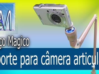 Suporte para câmera articulado Braço magico