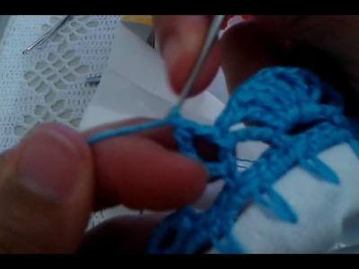 Barrado de crochê super fácil#32