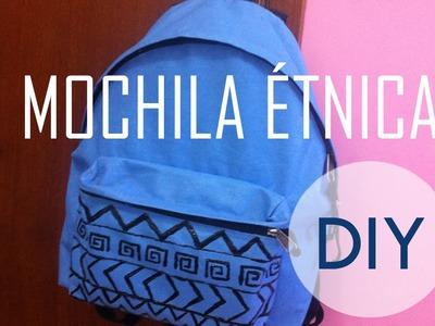 Como fazer: customização de mochila étnica