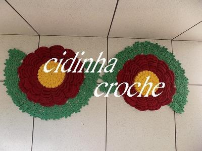 Croche -Tapete Natalino Espiral- Passo A Passo- Parte 1