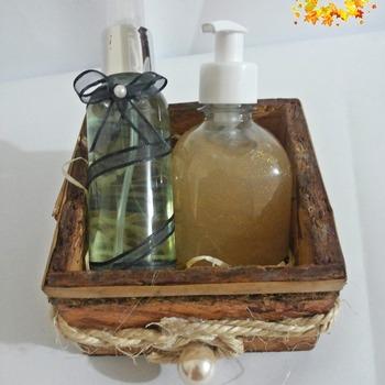Kit de Sabonete e Água de Lençois