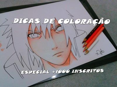 """Tutorial: Como colorir pele (Parte 1) """"ESPECIAL +1000 INSCRITOS"""" How to color"""