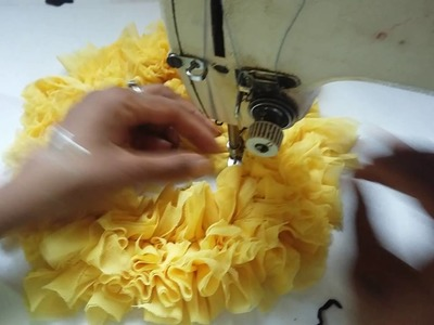 Aprendendo com Adriana Mathias - Fazer tapete de retalho  modelo de flor