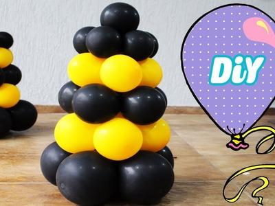Como Fazer Cone de Balão - Cone de Rua -How to Make Balloon ConeStreet