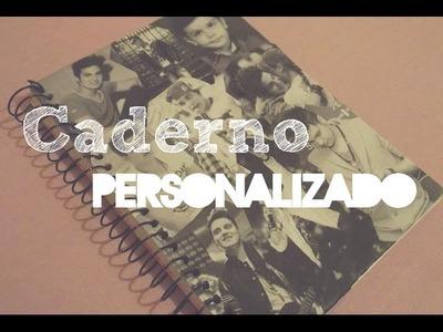 Diário de Fã - DIY Caderno Personalizado
