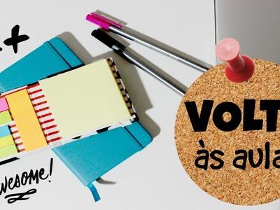 DIY | Como fazer: Caderninho de Bolso | Volta às Aulas! #Papel Em Tudo
