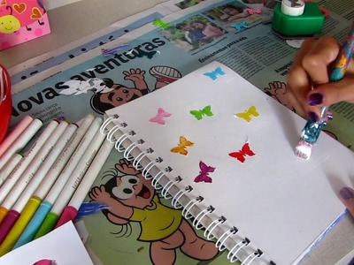 DIY:Customize seu caderno