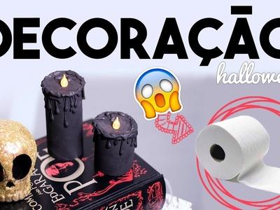 DIY Lixo ao Luxo - Decoração de Halloween com Papel Higiênico