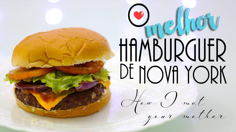 DIY: O melhor Hamburguer de Nova York! - How I met your mother | Cozinha Geek | ep. 10