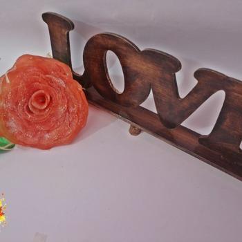 Rosa de Sabonete Decorativa