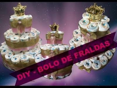 #06 - DIY Bolo de Fraldas