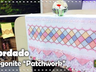 """BORDADO VAGONITE """"PATCHWORK"""" com Leila Jacob - Programa Arte Brasil - 10.01.2017"""