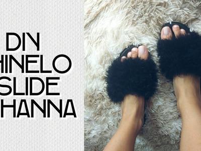 DIY - Chinelo Felpudo Rihanna #BrendaTodoDia6