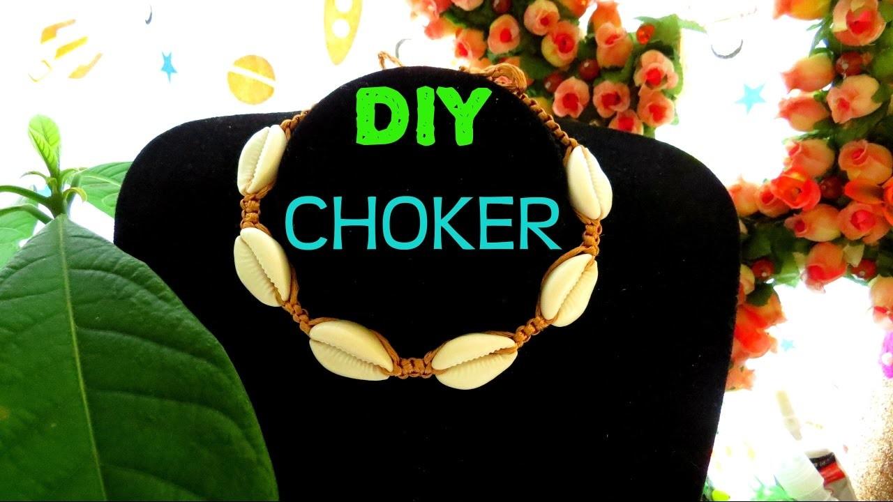 #DIY CHOKER SUMMER