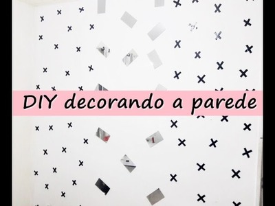 Diy decorando a parede tumblr gastando super pouco.