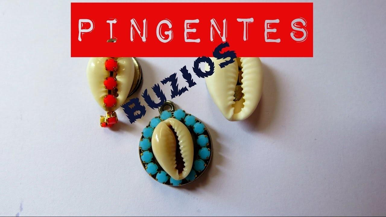 #DIY PINGENTE DE BÚZIOS