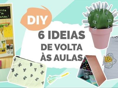 DIY VOLTA ÀS AULAS | 6 ideias de Organização Ft. Isabelle Verona