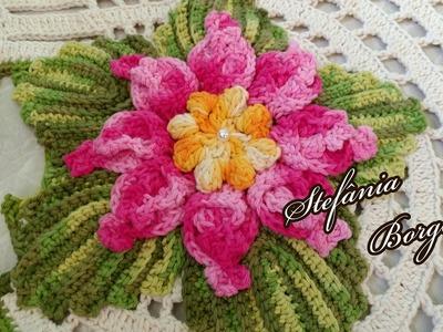 Flor de Verão ( Flor para aplique)