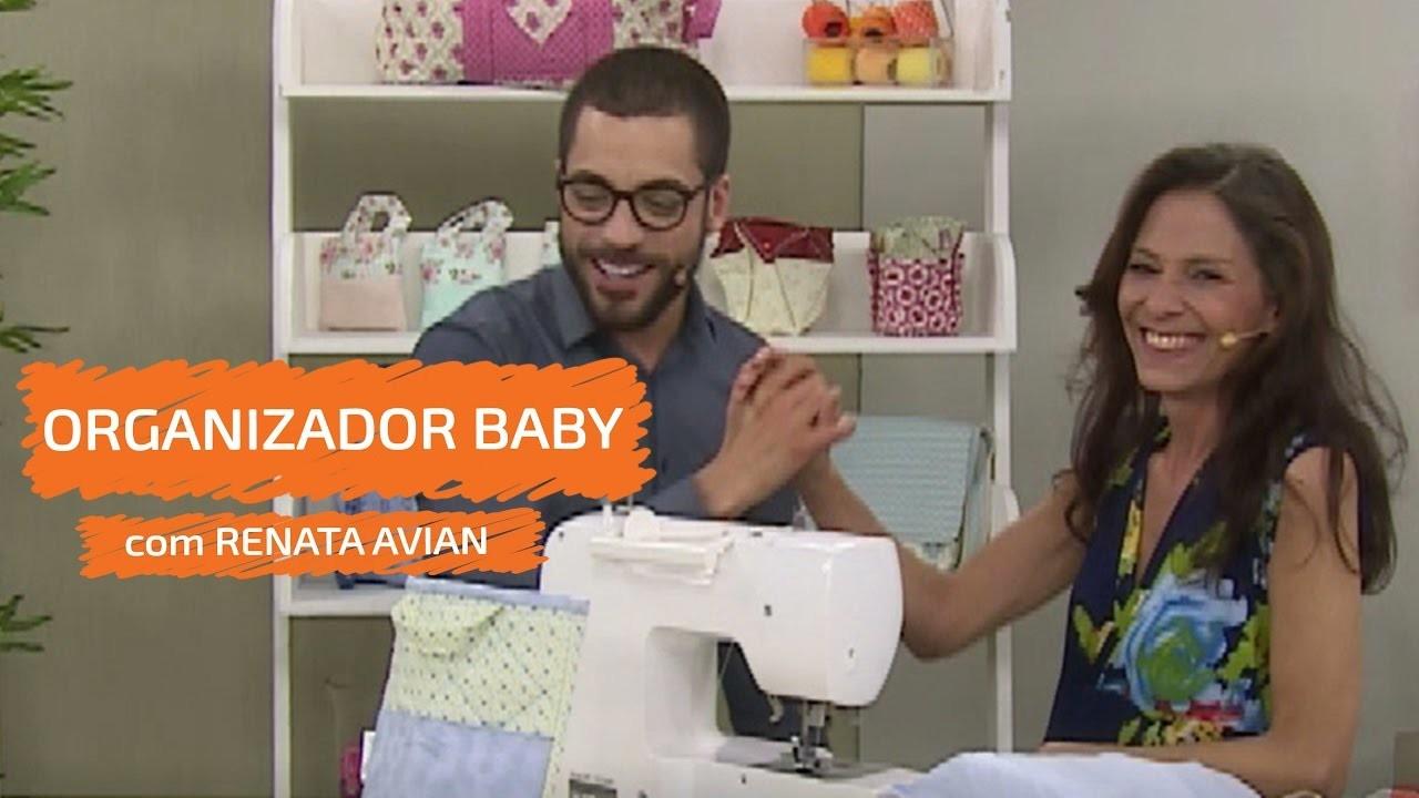 Organizador Baby com Renata Avian | Vitrine do Artesanato na TV