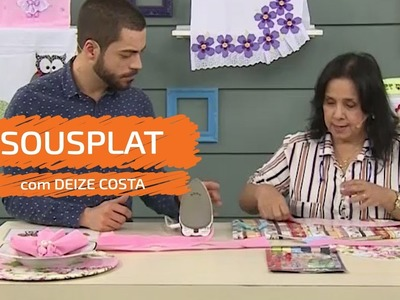 Sousplat com Deize Costa | Vitrine do Artesanato na TV