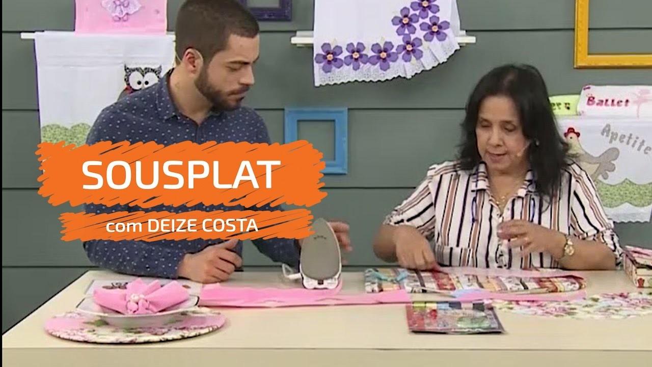 Armario Roupeiro De Aço ~ Sousplat com Deize Costa, Vitrine do Artesanato na TV