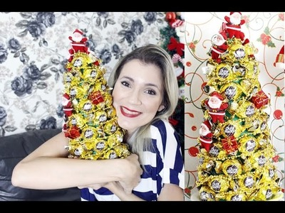 Árvore de Natal com Bombom - Faça você mesmo - By Luana Viana