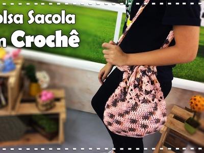 BOLSA SACOLA EM CROCHÊ com Cecília Jane - Programa Arte Brasil - 17.01.2017