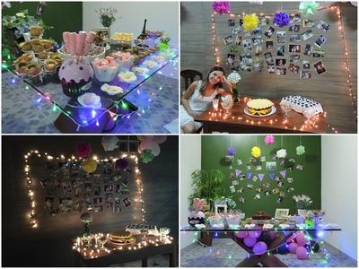 Dicas de decoração para festas gastando pouco | Juuh Teixeira