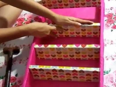 DIY: Faça você mesma\armário para esmaltes