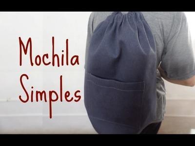 MOCHILA SIMPLES - PASSO A PASSO
