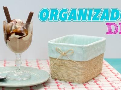 Pote de Sorvete Decorado | Organizador DIY