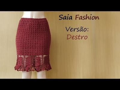 [Versão Destro] Saia Fashion Tam.: (P)