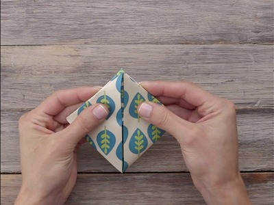 Como fazer porta-celular de origami. #DIY #VixDiy