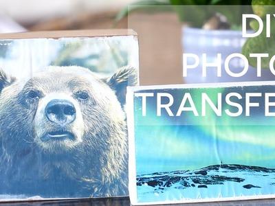 COMO TRANSFERIR FOTO PARA MADEIRA E TELA | DIY