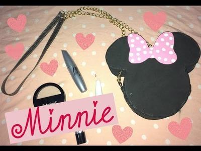 DIY : Bolsa da Minnie de EVA   #MinnieMouse