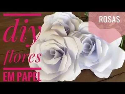 DIY | Flores de Papel