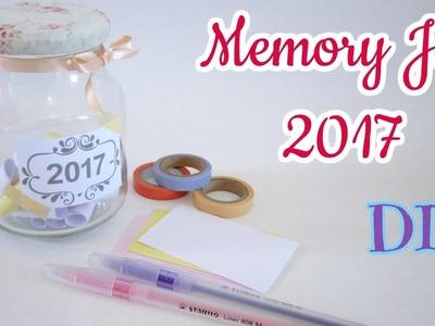 Faça você mesma Pote de Memórias 2017 - DIY Memory Jar