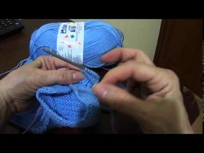 Macacão em tricô para bebê Parte 4