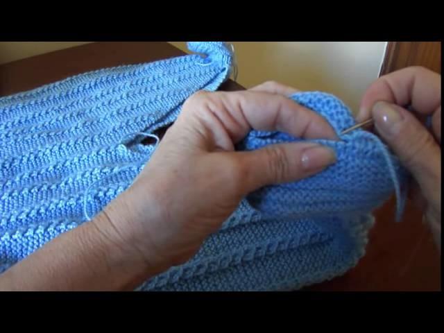 Macacão em tricô para bebê Parte 7