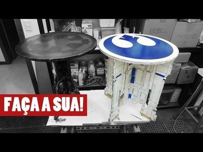STARWARS R2D2 MESA - FAÇA A SUA!