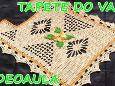 TAPETE DO VASO - JB ÍSIS #LUIZADELUGH