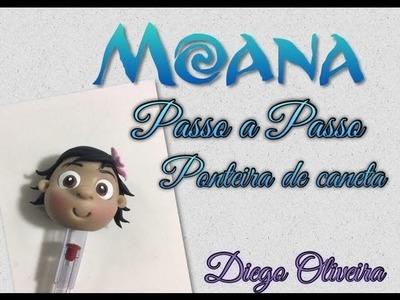 DIY - Ponteira de lápis MOANA