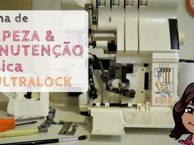 Manutenção rápida da máquina ultralock.overlock : Limpeza e lubrificação (DIY Tutorial com a Bel)
