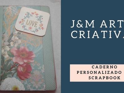 Caderno personalizado de Scrapbook