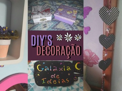 DIY: Dicas e Diys de Decoração   Galáxia de Ideias