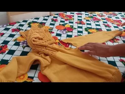 Roupas pra cachorro fácil  e rapido feito de blusa velha