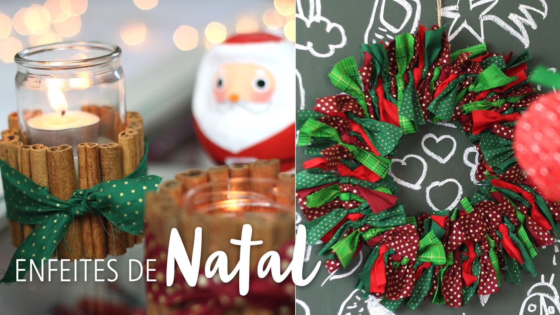 Como fazer enfeites de Natal sem gastar muito!