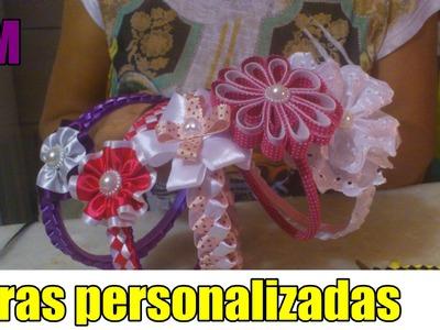 Como fazer tiaras personalizadas ! #1