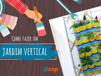 Como fazer um jardim vertical - Faça Você Mesmo