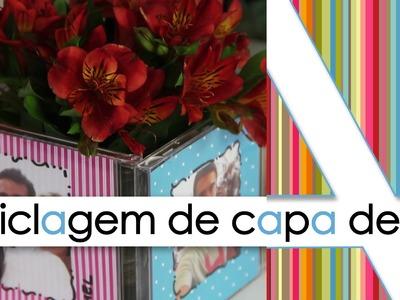 """""""RECICLAGEM DE CAPA DE CD"""""""